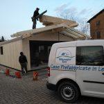 Montaggio tetto