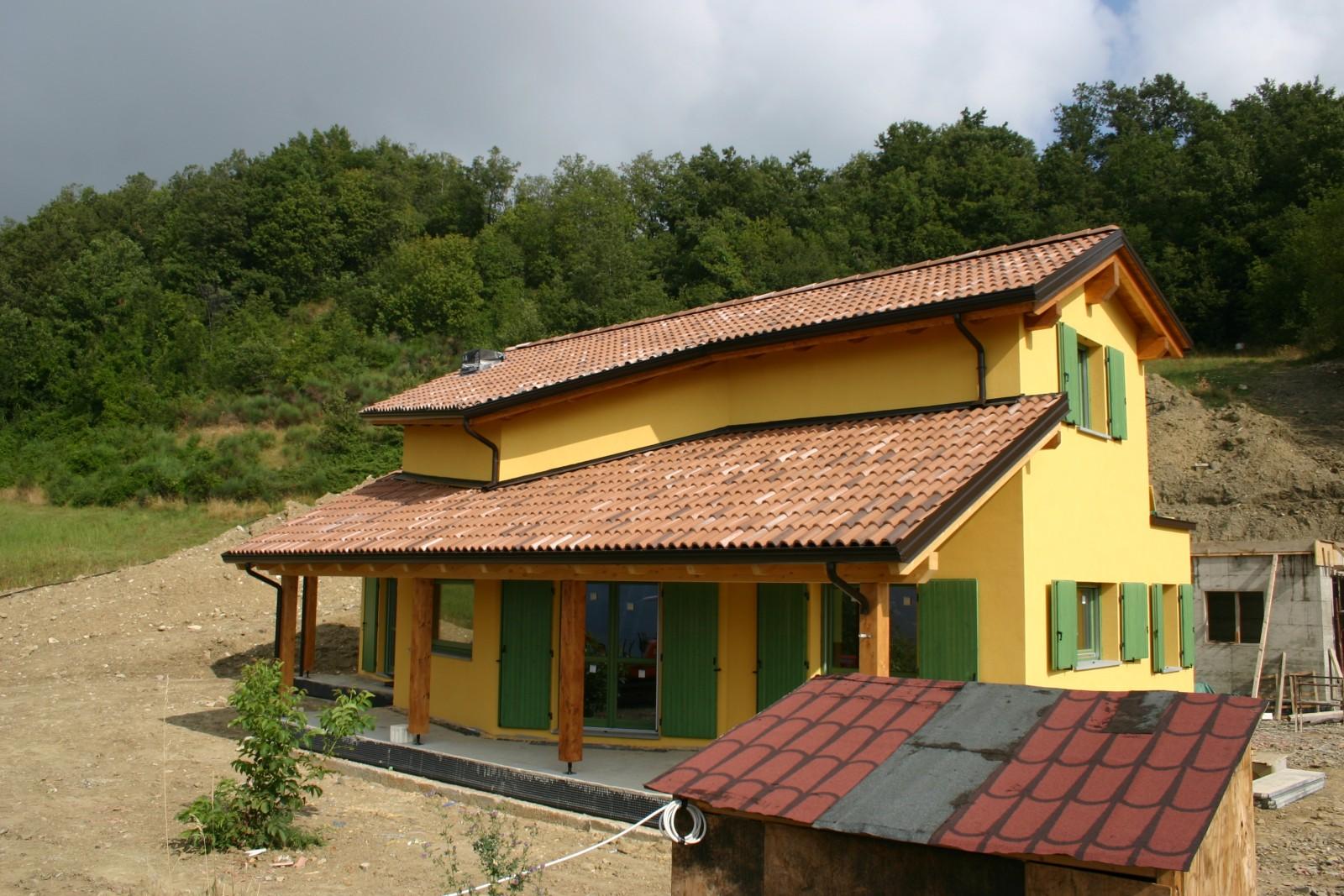 Realizzazione di casa prefabbricata in legno tecnologia - Tecnologia in casa ...