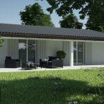 Casa prefabbricata in legno modello 1.20