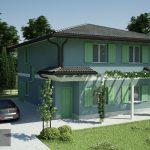 Casa prefabbricata in legno modello 2.30b