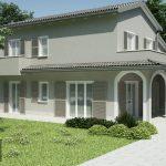 Casa prefabbricata in legno modello 2.80b